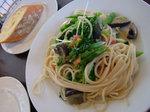 有機野菜のペペロンチーノ