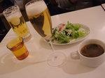 サラダとスープ(本日はトムヤム風)