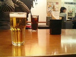 もちろん♪のランチビール
