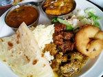南インド料理です