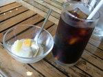 Iceバリコーヒーとナタデココ