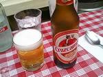 ビールはもちろんスペインビール