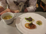 前菜、スープ