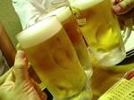 まずは乾杯〜☆
