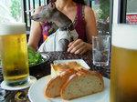 ランチビール好き♪