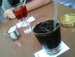 ICEミルクティー、ICEコーヒー