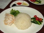 海南鶏飯(チキンライス)