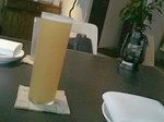 マンゴーとビールのカクテル「レッドアイ」