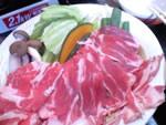 柔らかラム肉と野菜