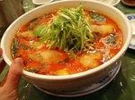 牡蠣辣湯麺