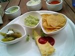 メキシカンな前菜(サボテンのピクルス・ガッカモーレ・メキシカンオムレツ)