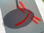 お店のロゴ(赤とんぼ)