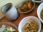 百年茶、野菜の煮物